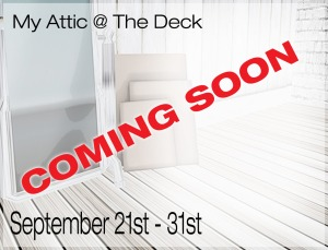 My Attic - Coming Soon - September