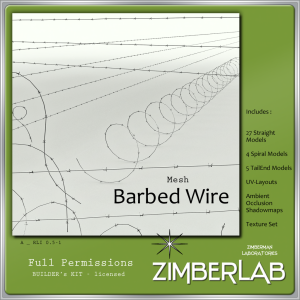 ZimberLab Barbed Wire A