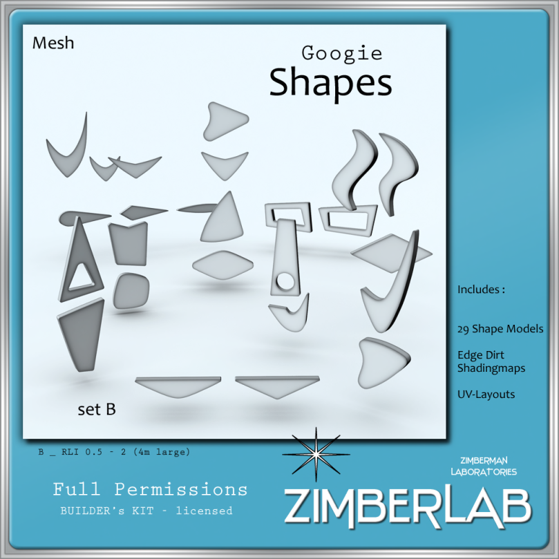 ZimberLab Shapes B